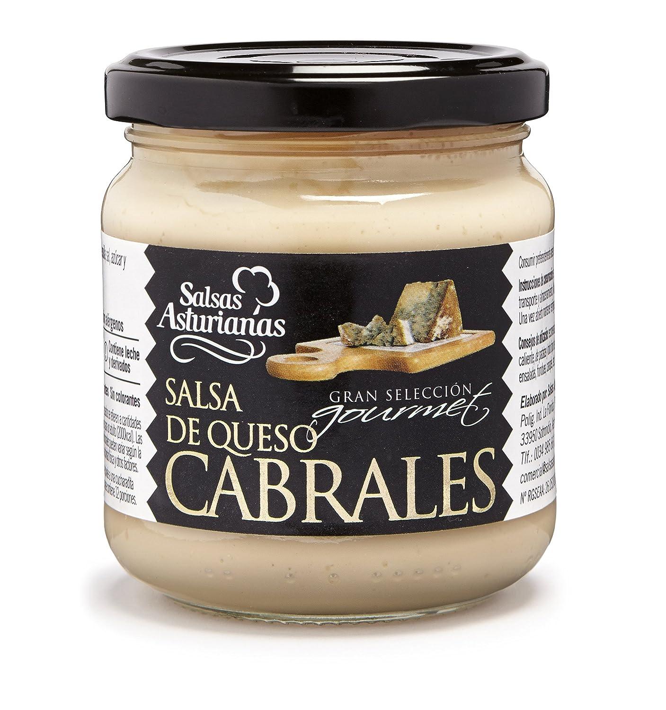 Salsas Asturianas Salsa Queso Cabrales - 190 gr - [Pack de 6]: Amazon.es: Alimentación y bebidas