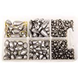 Bullet Weights Assorted Sinker Kit (215 Pieces)