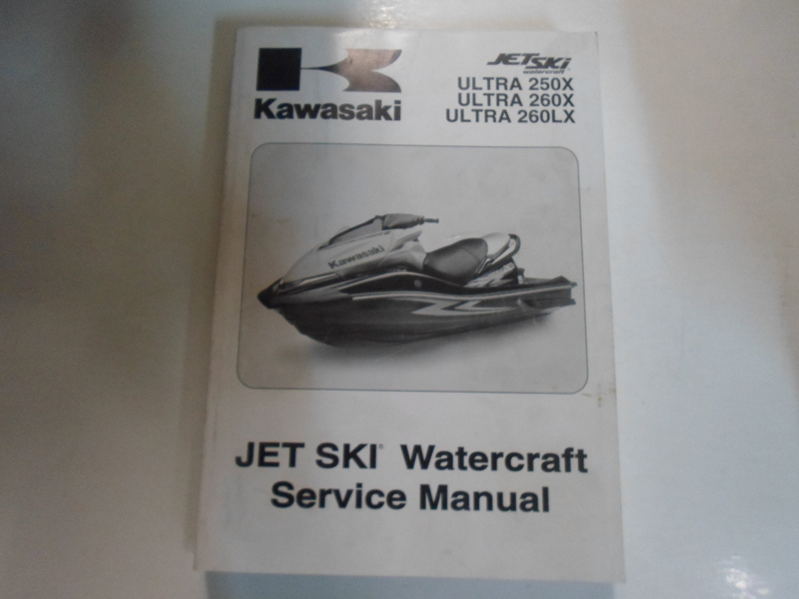 2007 2009 kawasaki ultra 250x 260x 260lx jet ski watercraft service rh amazon com kawasaki ultra 250x service manual download kawasaki ultra 260x service manual