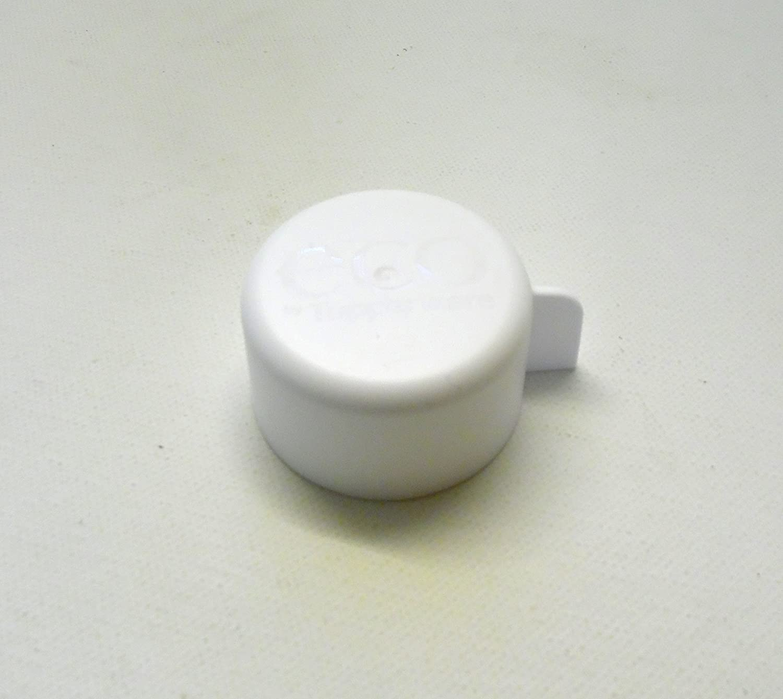TUPPERWARE To Go Eco 1,0 L weiß Ersatzdeckel Deckel Drehverschluss Ökoflaschen