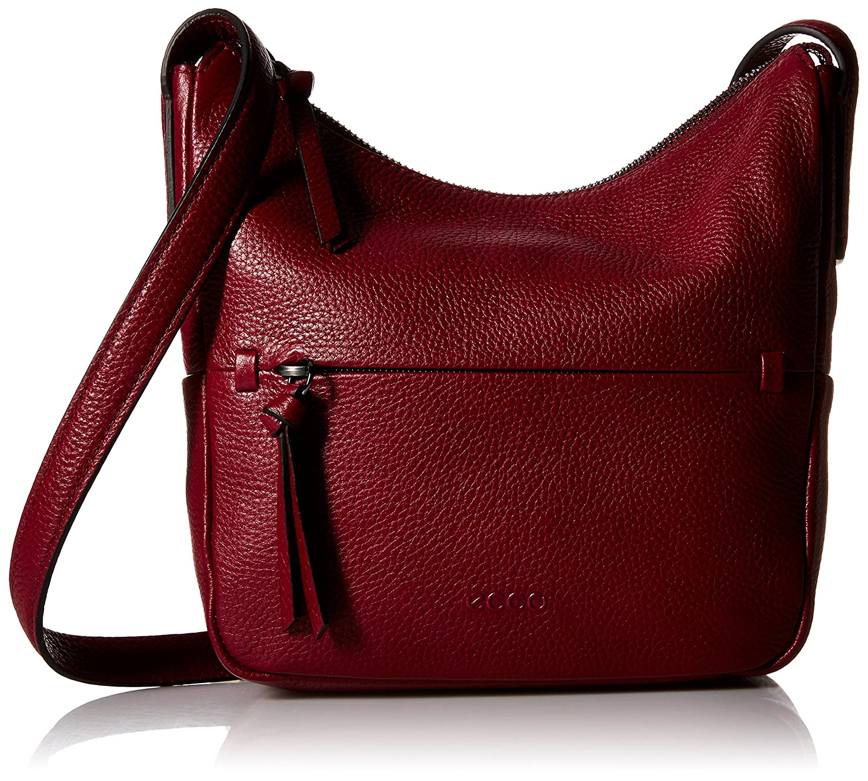 802a712b4b3 Amazon.com: ECCO SP Small Hobo Cross Body Bag, Shiraz, One Size: Clothing