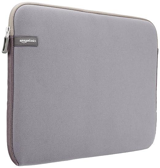 1540 opinioni per AmazonBasics- Custodia per computer portatile da 15- 15,6 pollici, grigio