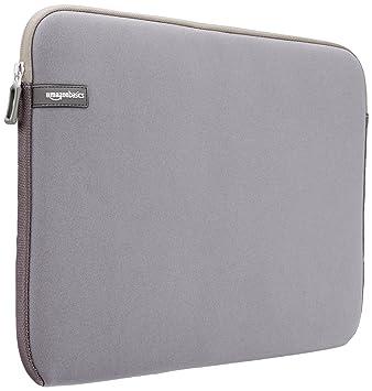 """AmazonBasics NC1303154H - Funda para ordenadores portátiles (15.6""""), color gris"""