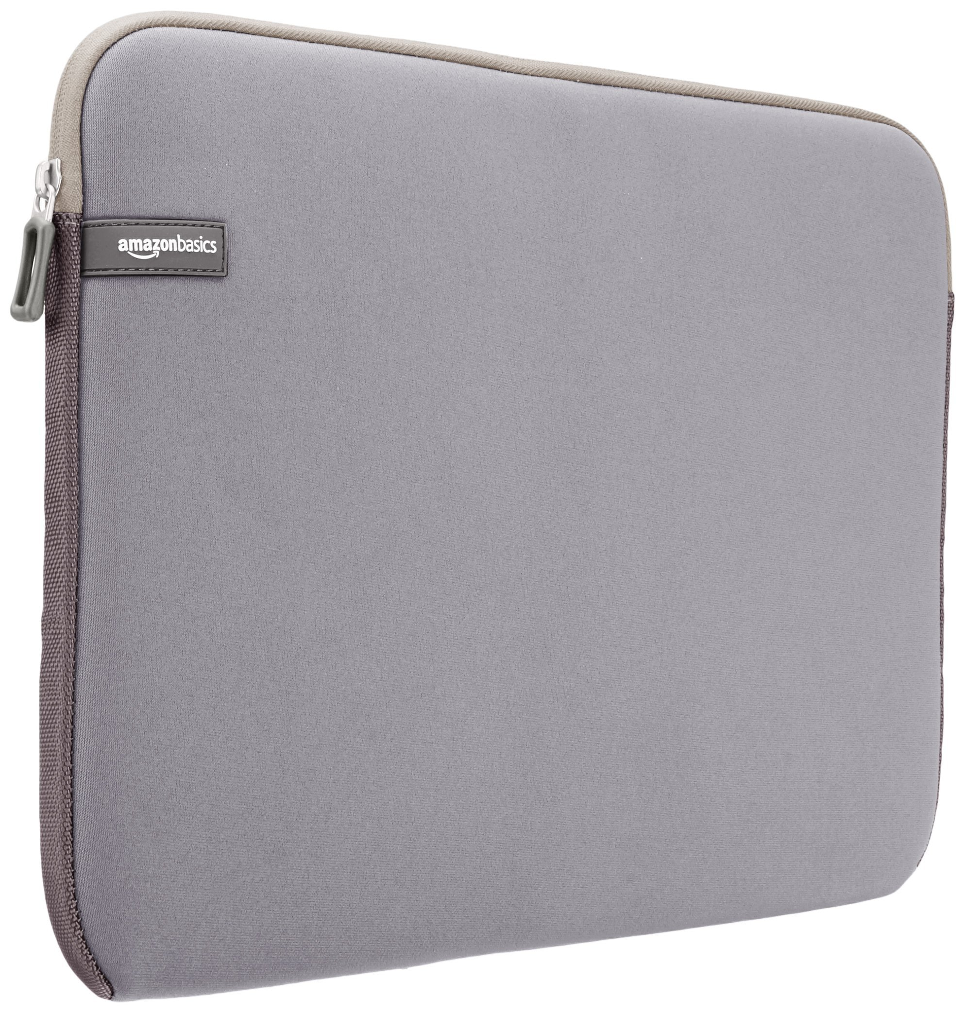 AmazonBasics 15.6 Inch Laptop Computer Sleeve Case - Grey 1-