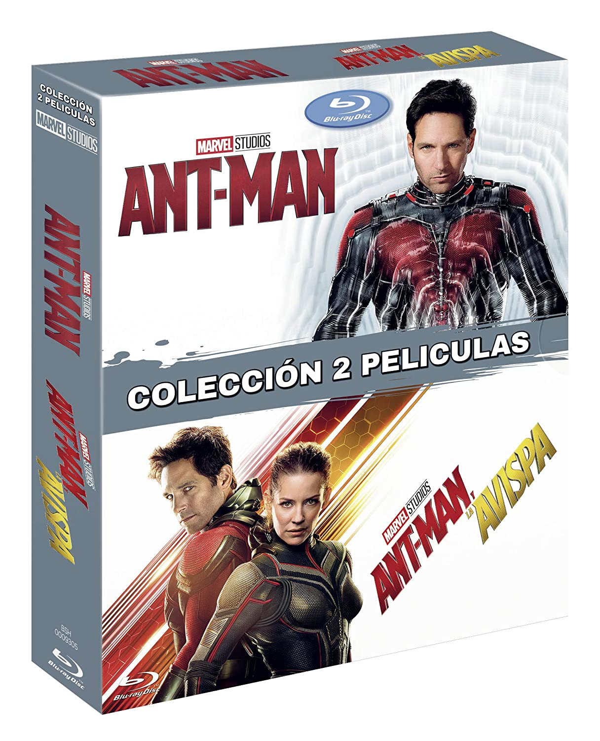 Pack: Ant Man 1 + Ant Man 2 [Blu-ray]: Amazon.es: Paul Rudd ...