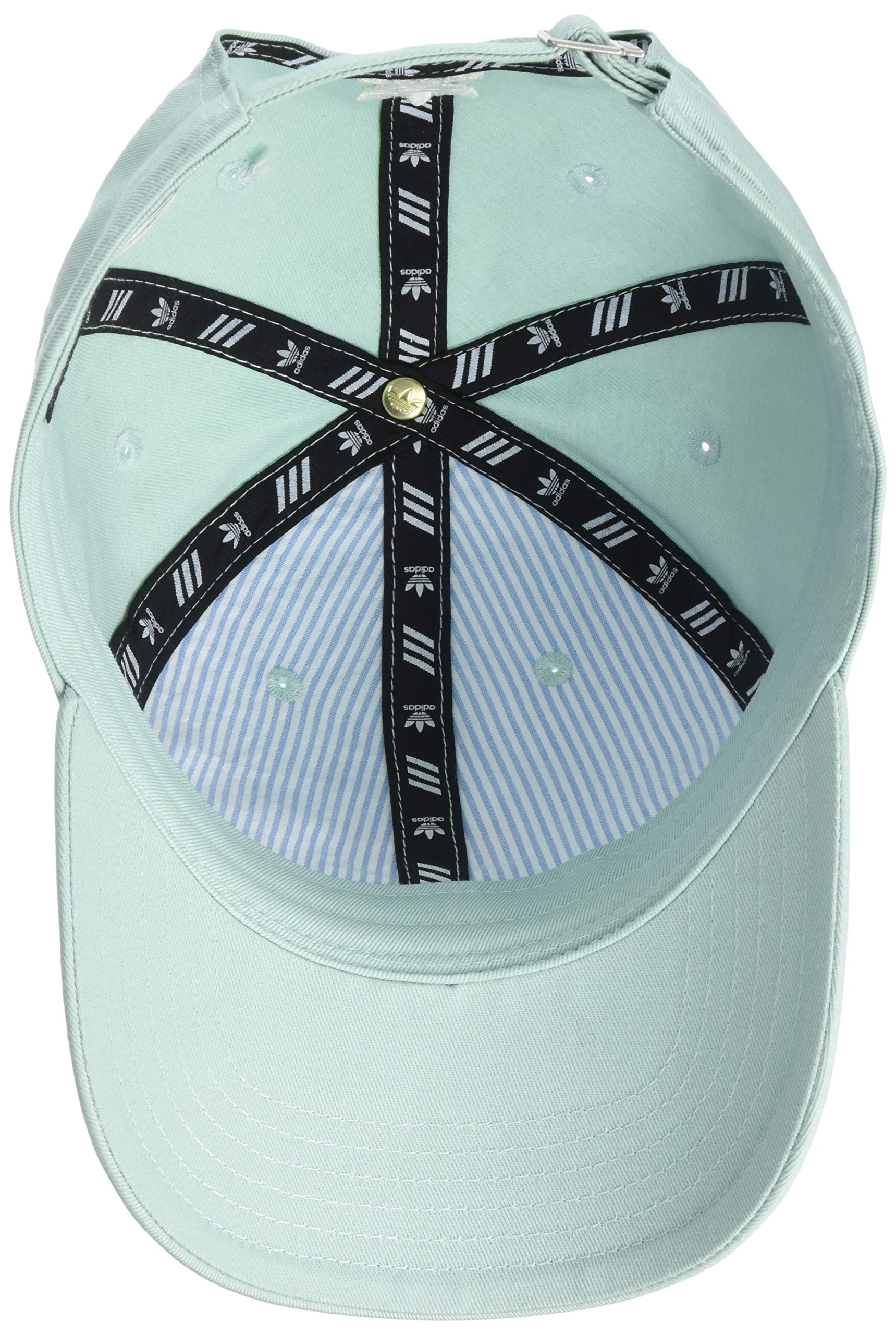 adidas Women's Originals Outline Logo Relaxed Adjustable Cap, Ash Green/White, One Size by adidas (Image #3)