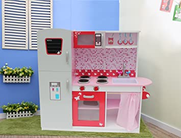 337aef54e012c WestWood Large Wooden Kitchen Playset Toy Cooking Set Unit Children Kids  Girls Gift Toddler DIY Role