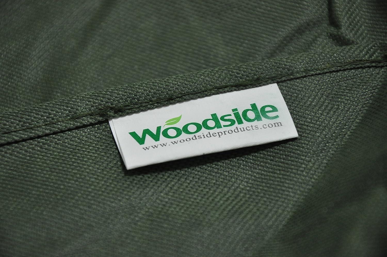 2.6ft x 10.4ft x 6.2ft 5 YEAR GUARANTEE Woodside Green 8-10 Seater Waterproof Rectangular Outdoor Garden Patio Furniture Set Cover Heavy Duty 600D Material 0.8m x 3.2m x 1.9m