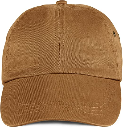 Amazon.com  Anvil Solid Low Profile Twill Cap (Texas Orange) (ONE ... ccc0afcd57d