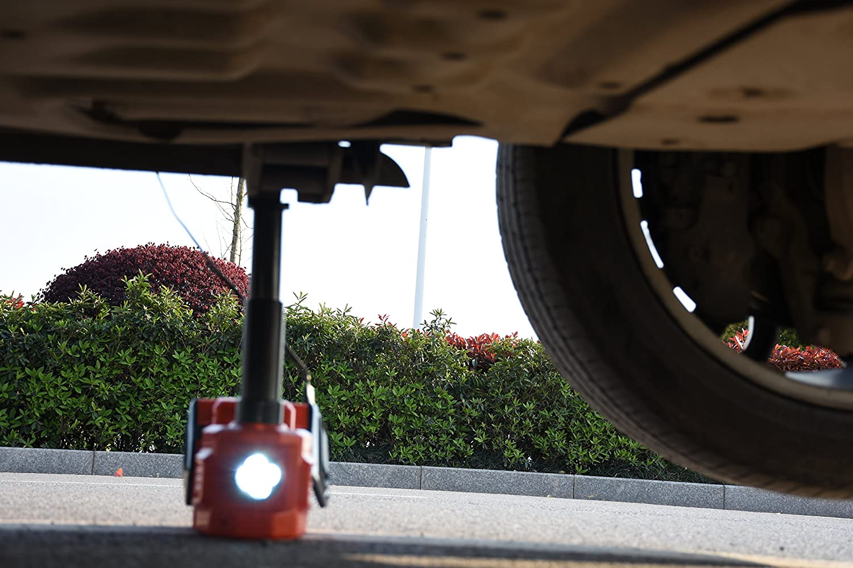 YASI MFG/® 5 Tonne 45cm Elektrischer Hydraulischer Wagenheber hydraulisch Hydraulikheber f/ür SUV und Auto