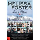 Love in Bloom Series Reading Order and Checklist: Snow Sisters, The Bradens, The Remingtons, Seaside Summers, The Ryders, Wil