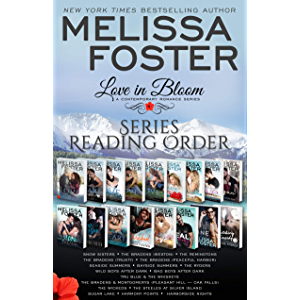 Love in Bloom Series Reading Order and Checklist: Snow Sisters, The Bradens, The Remingtons, Seaside Summers, The Ryders…