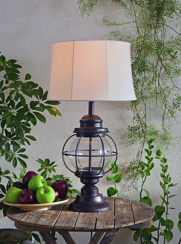 Black Kenroy Home 90962BL Hatteras Medium Lantern