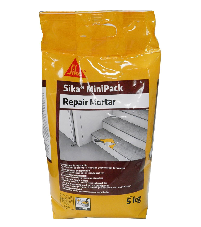 Sika Minipack Mortero de Reparación, Mortero de reparación ...