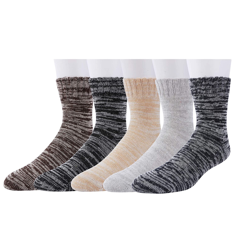 VCA Lot de 6 paires de chaussettes norv/égiennes laine /épaisse anthracite