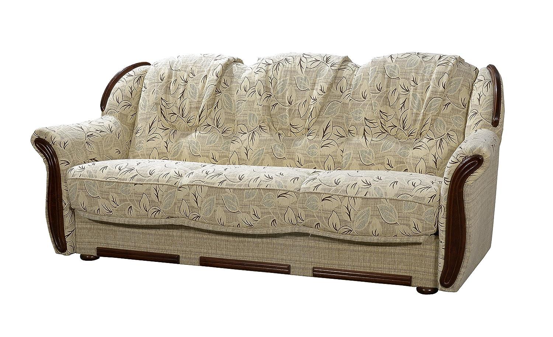 Schlafsofa designklassiker  DENVA 3-Sitzer 3er Sofa Couch, Stylish Design Schlafsofa, Bettsofa ...