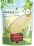 Blanched Almond Flour by Food To Live (Super Fine Grind Powder, Raw Skinless Almonds Meal, Kosher, Bulk) — 8 Ounces
