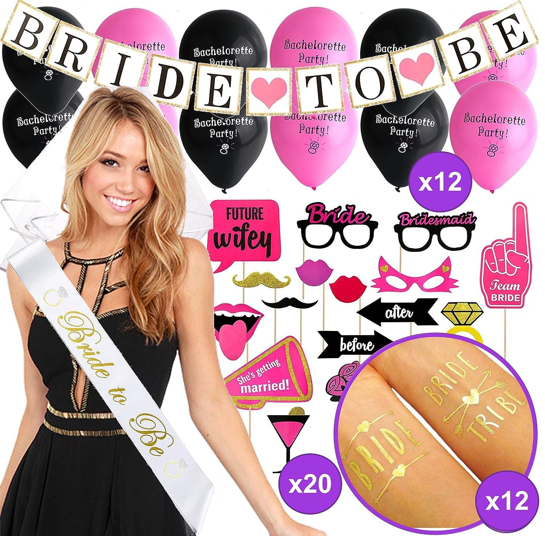 4f7564d6a10 Amazon.com  Bachelorette Party Decorations KIT