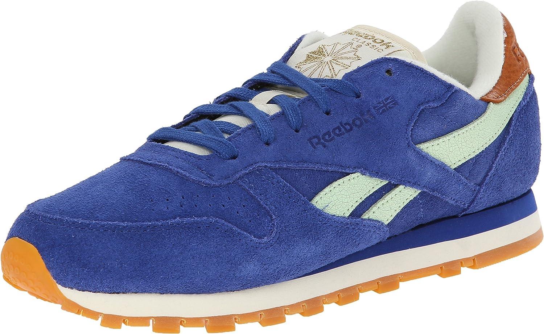 número dormitar Ajustarse  Amazon.com | Reebok Women's CL Leather Suede Shoe | Fashion Sneakers
