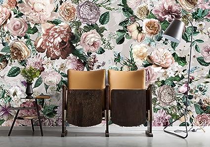 komar xxl4 051 victoria floral bouquet wallpaper wall mural (368 xkomar xxl4 051 victoria floral bouquet wallpaper wall mural (368 x 248 cm