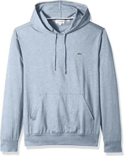6d95e92d Lacoste Men's Long Sleeve Hoodie Jersey Tee with Central Pocket, Th9349