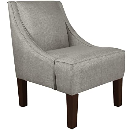 Delicieux Skyline Furniture Swoop Arm Chair, Groupie Pewter