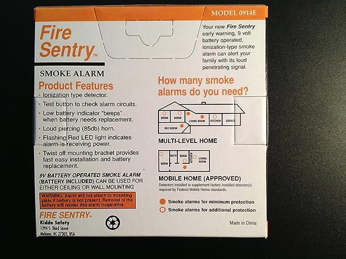 NEW Kidde Fire Sentry 0914E Smoke Alarm  SHIPS FREE!
