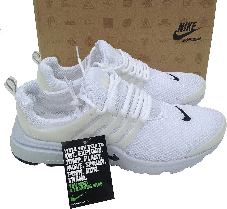 Nike Air Presto Zapatillas Deportivas, Color, Blanco, Talla 45, para Hombre: Amazon.es: Zapatos y complementos