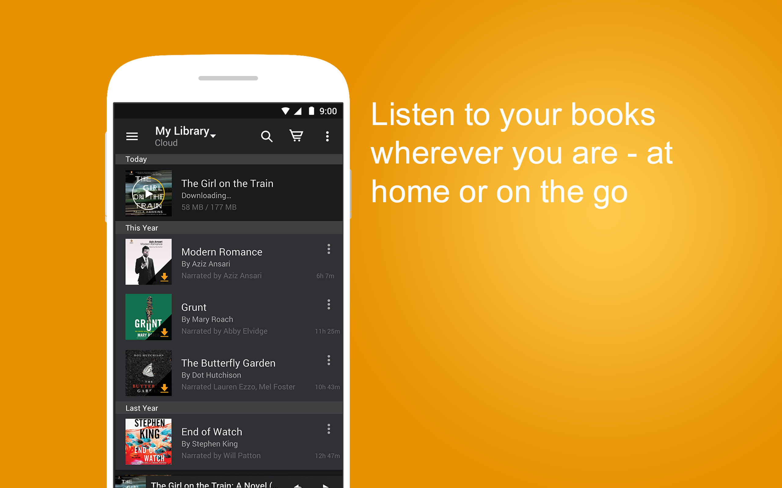 Audible – Audiobooks & Originals for Android: Amazon.es: Appstore ...