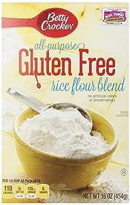 Gold Medal Gluten Free Rice Flour Blend Flour 16 oz Box (pack of 6)