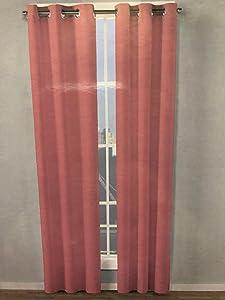 Betsey Johnson Shimmering Pink Room Darkening Window Panels