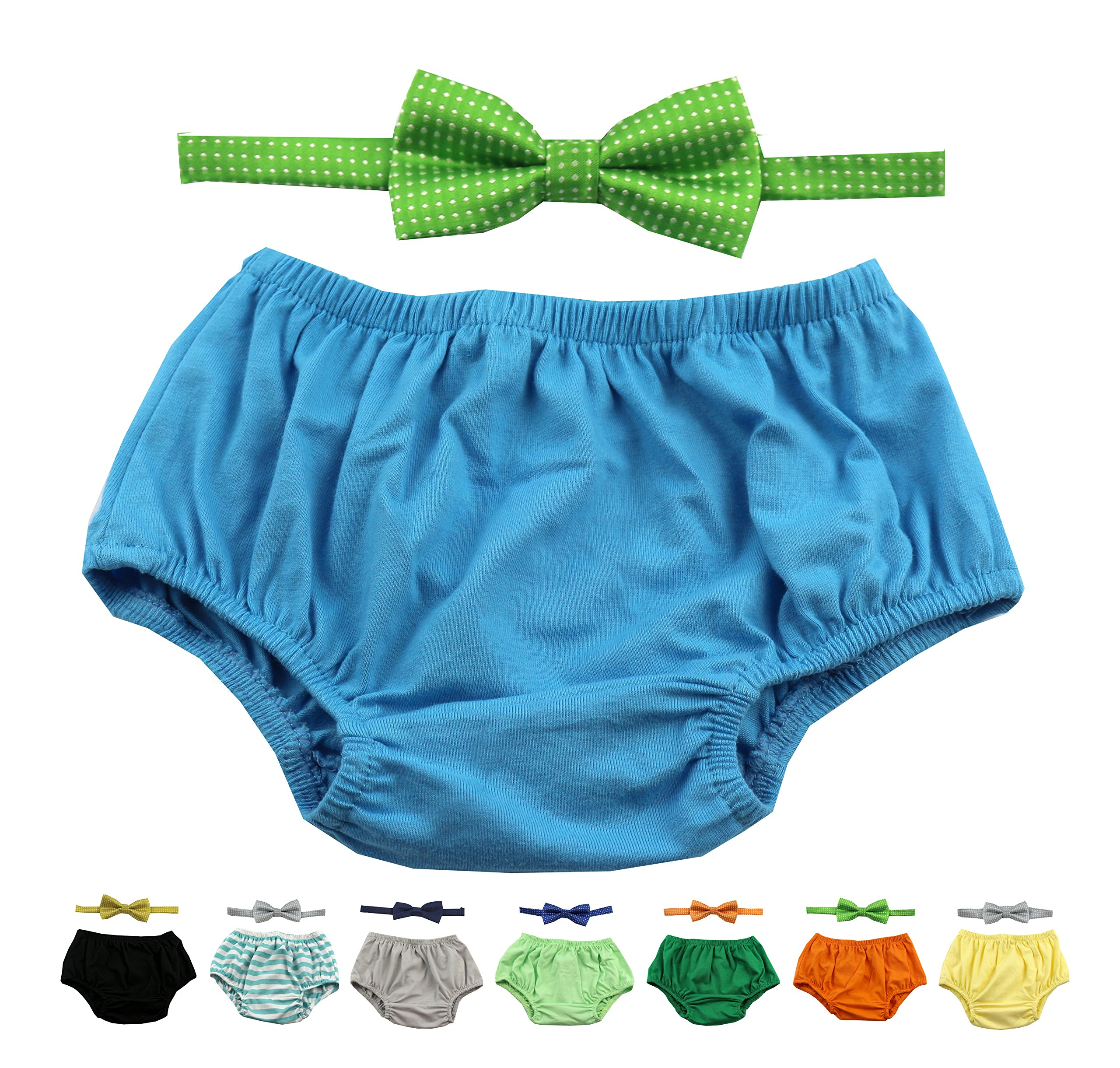Gentlemen Ties Cake Smash Outfit Boy First Birthday Includes Bloomers And Bow Tie