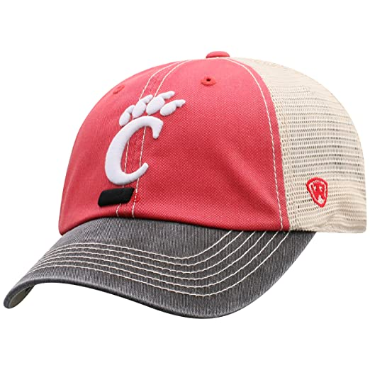 best service 2ee03 4ccc0 Top of the World NCAA Cincinnati Bearcats Offroad Snapback Mesh Back Adjustable  Hat, One Size