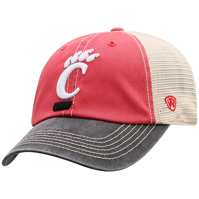 info for f1553 92d8f Amazon.com   Top of the World NCAA Cincinnati Bearcats Offroad Snapback  Mesh Back Adjustable Hat, One Size, Red Black Khaki   Sports   Outdoors