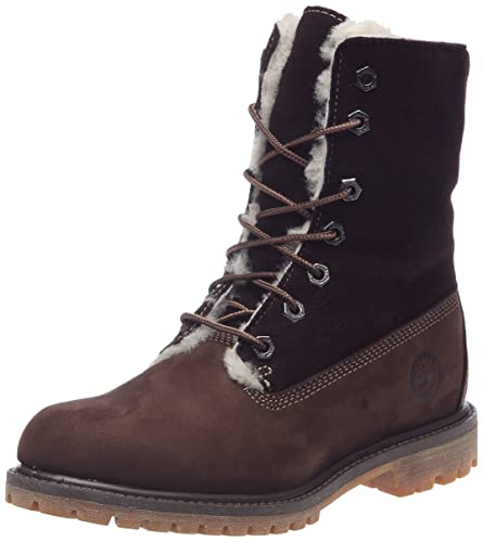 Timberland Authentics Shearling Fold Down Boot, Boots femme