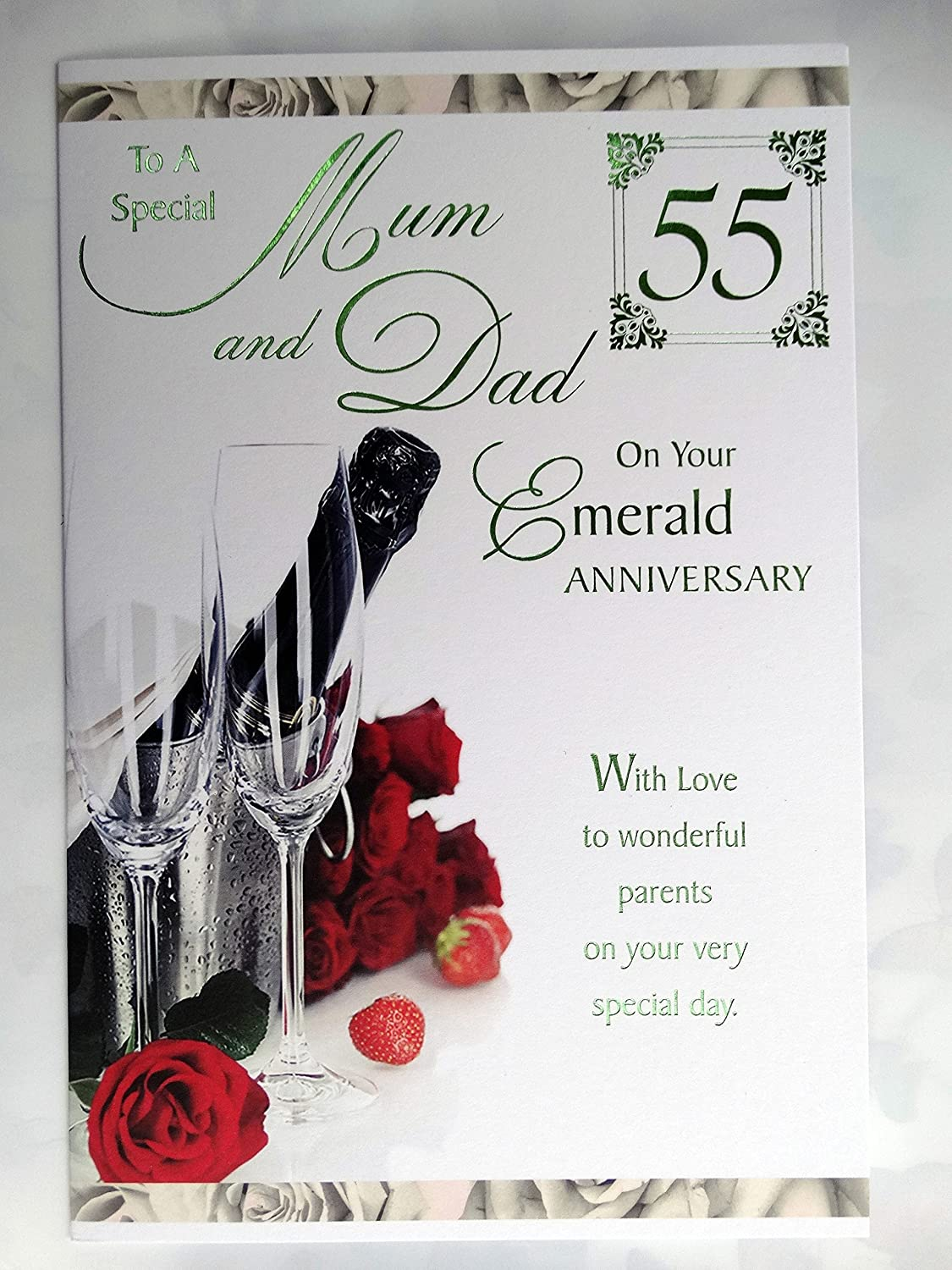55th wedding anniversary cards
