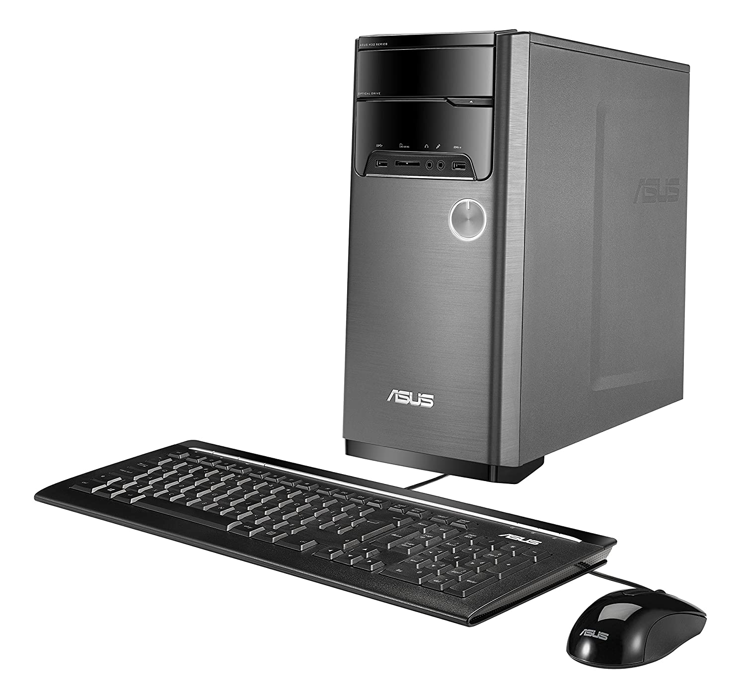 Asus M32cd Desktop Intel Core I5 6400 Quad 27ghz Mouse Dell Usb Branded Hitam 8gb Ddr4 Memory 1tb Hard Drive Windows 10 With Keyboard And Computers