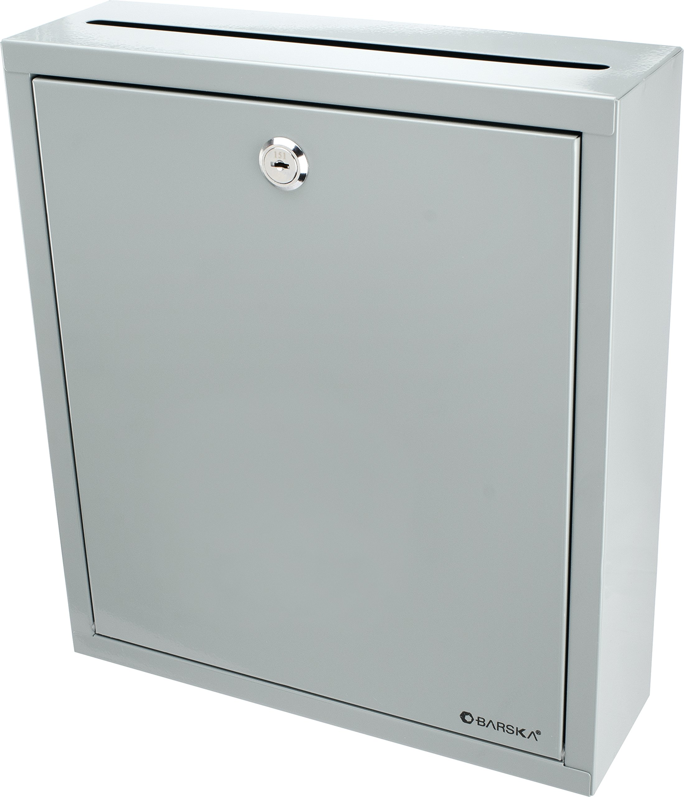 BARSKA Multi-Purpose Drop Box, Grey, Large by BARSKA