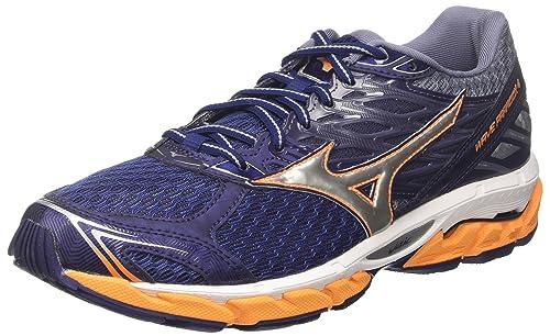 4 Mizuno eclipsesilverbrightmarigold De Chaussures Wave 41 Multicolore Running Homme Eu Paradox 50qcwtv