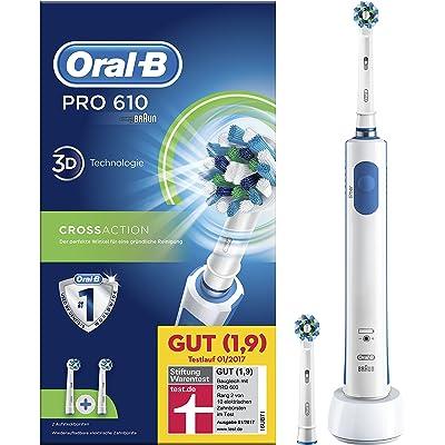 Oral-B Pro 610 - Cepillo de dientes eléctrico