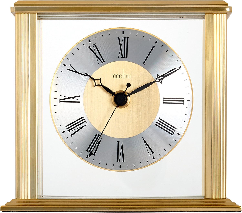 Acctim 36248 Hamilton - Reloj de Mesa, Color latón
