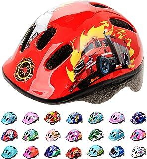 YGJT Casco Bicicleta Niños Protección de Cabeza de Seguridad de ...