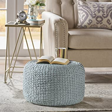 Tammy Grey Water Hyacinth Wicker Foot Stool