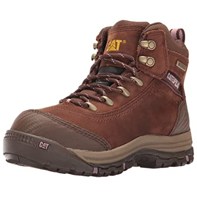 "Caterpillar Women's Ally 6"" Waterproof Comp Toe Industrial and Construction Shoe: Shoes"