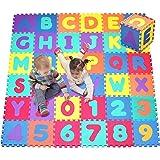 Click N ' PLAY ,字母和数字泡沫拼图游戏垫,36瓷砖(每个瓷砖措施 cm 适用于 TOTAL coverage OF 3.3m² )