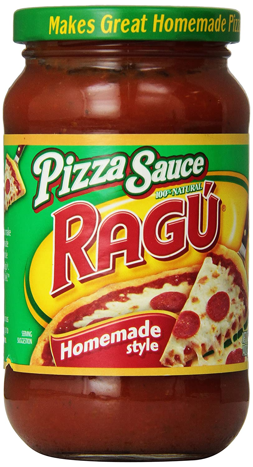 Ragu Pizza Sauce, Homemade Style, 14 oz
