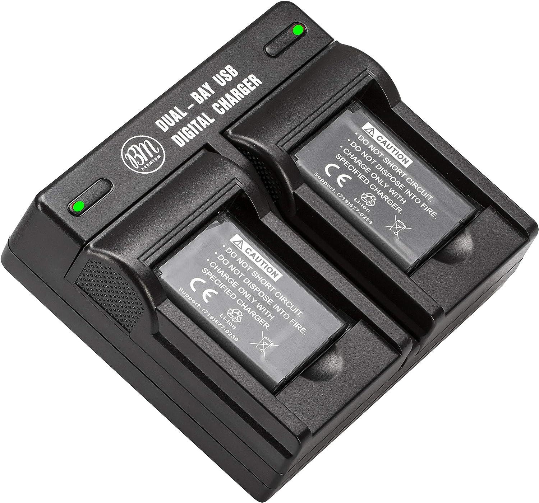 2X Battery EN-EL19 Nikon A300 S6500 S4200 S3400 Battery Charger PVOLT