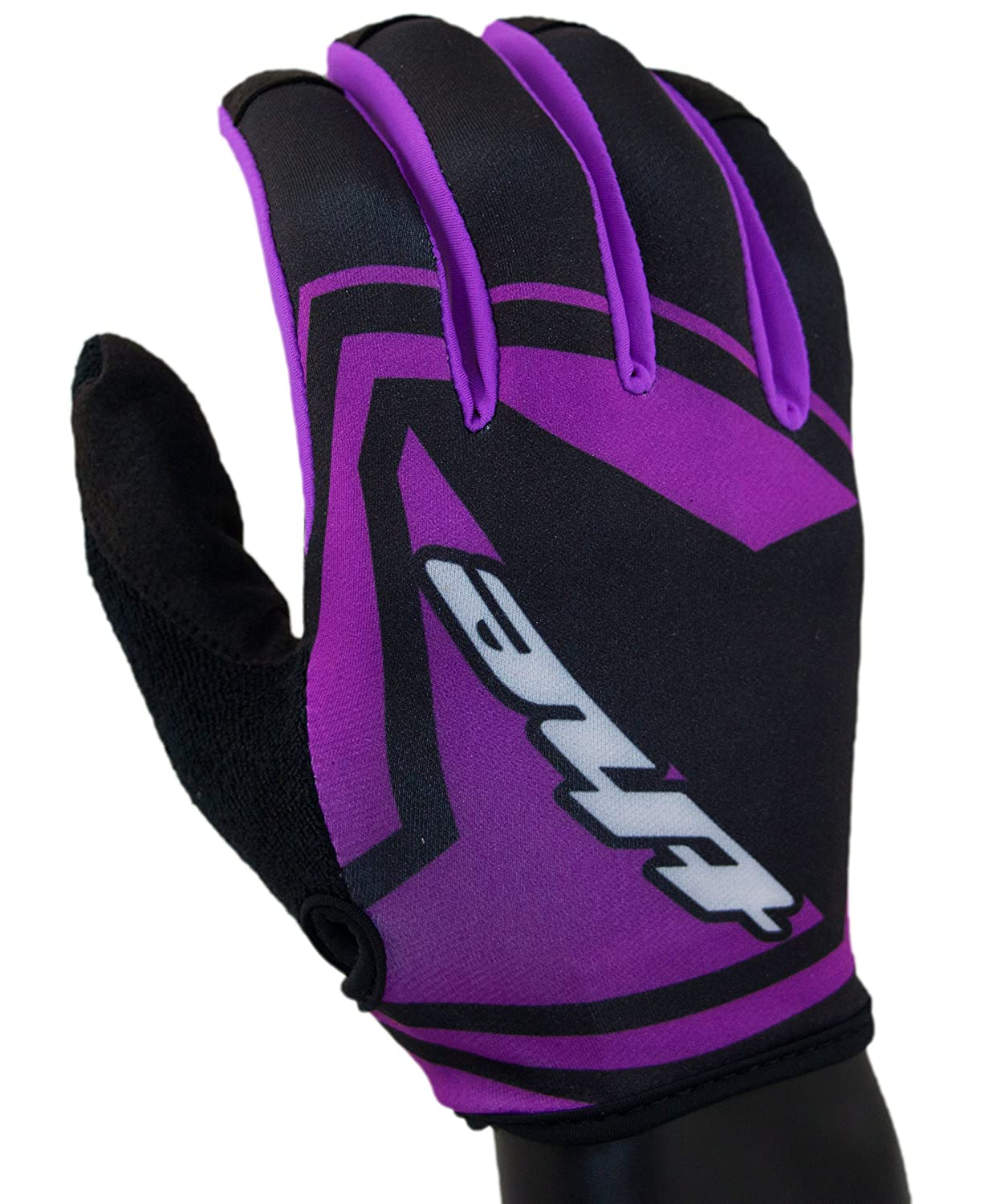 THE Industries Youth Lightweight BMX and Mountain Bike Gloves Black//Pink X-Large VSI Products YTHG