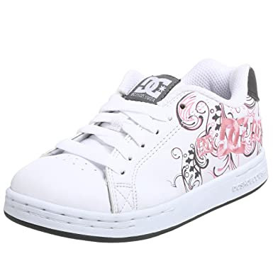 lowest price df235 dc3e6 DC Kids Pixie 3 Sneaker (Toddler Little Kid Big Kid),White