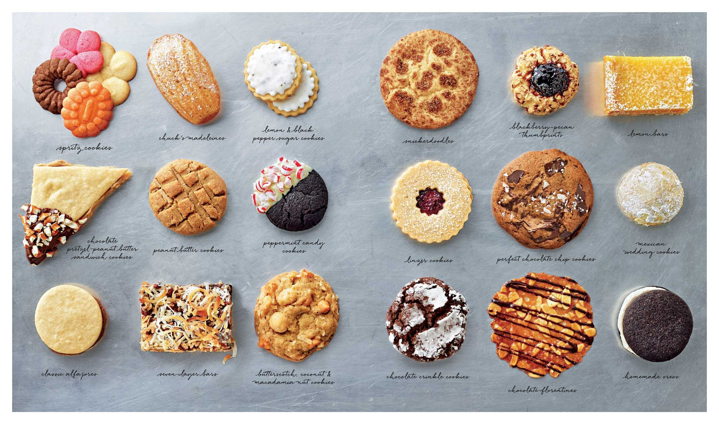 Favorite Cookies: More than 40 Recipes for Iconic Treats: Williams ...